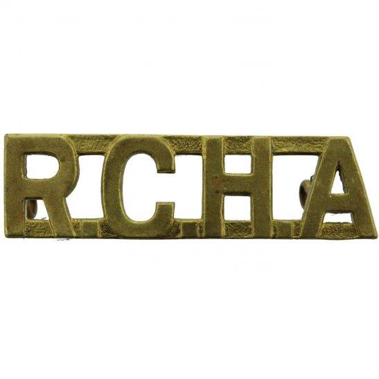 WW2 Canadian Army WW2 Royal Canadian Horse Artillery RCHA Canada Army Shoulder Title