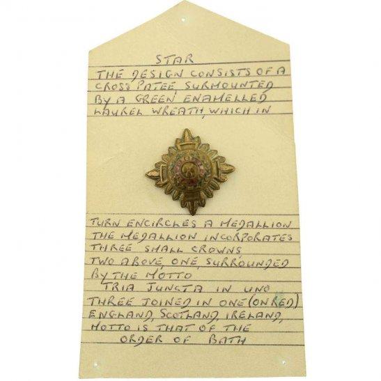 WW1 British Army Officers Insignia Pips - Rank of 2nd Lieutenant - 25mm Diagonally