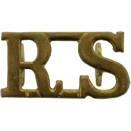 Royal Scots WW1 Royal Scots (Scottish) Regiment Shoulder Title