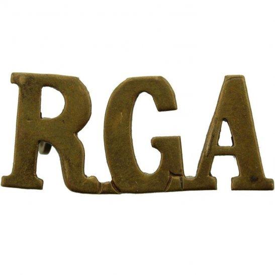 Royal Garrison Artillery RGA WW1 Royal Garrison Artillery RGA Shoulder Title