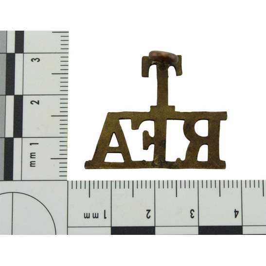 additional image for WW1 Territorial Royal Field Artillery T RFA Shoulder Title