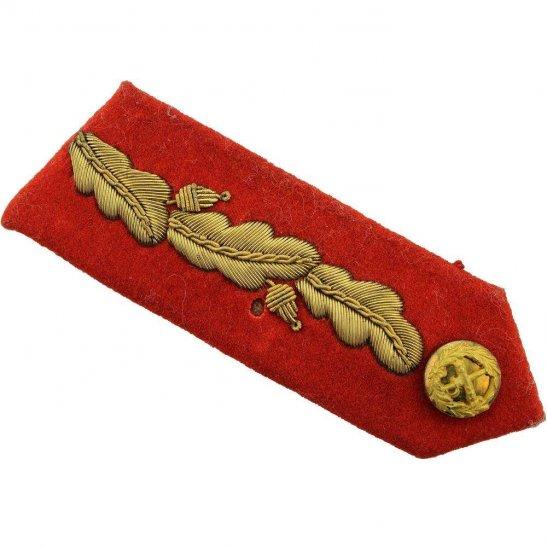 British Generals Rank Insignia Red Tab Collar Gorget