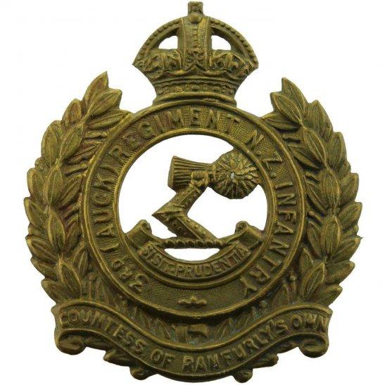WW1 New Zealand Army WW1 New Zealand Army 3rd Auckland Regiment Cap Badge