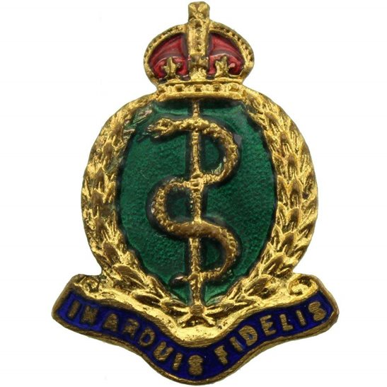Royal Army Medical Corps RAMC WW1 Royal Army Medical Corps RAMC Sweetheart Brooch