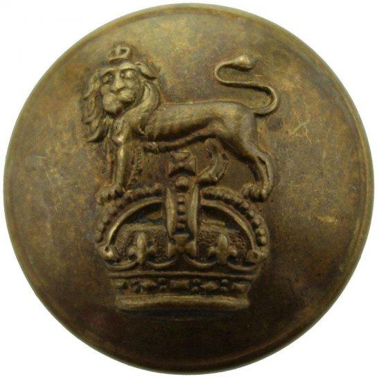 Royal West Kent Queens Own Royal West Kent Regiment Tunic Button - 26mm