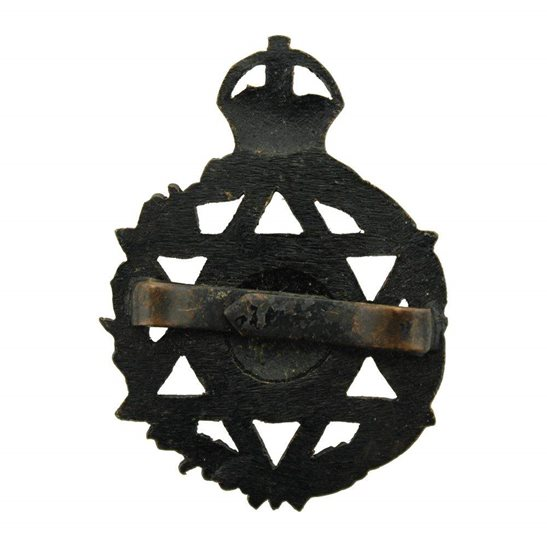additional image for WW2 Jewish Royal Army Chaplains Department Officers Cap Badge