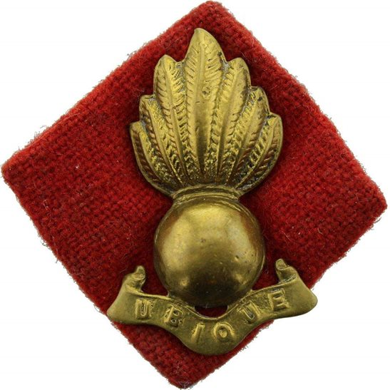 Royal Artillery Royal Artillery Regiment Collar Badge