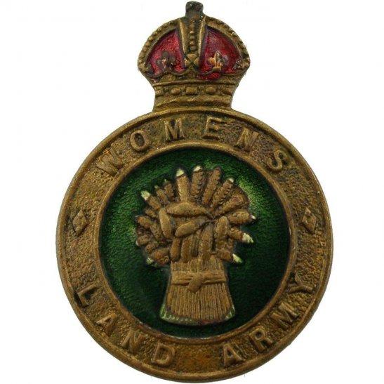 Womens Land Army WW2 Womens Land Army WLA (Women's) Lapel Badge - LUG VERSION