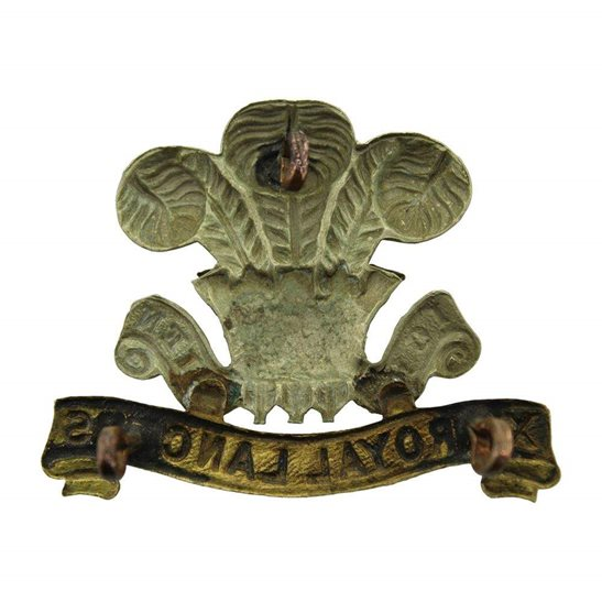 additional image for WW1 12th Royal Lancers Regiment Cap Badge - FIRST PATTERN