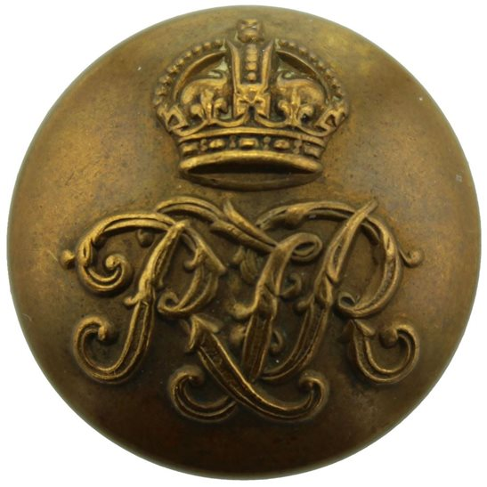 Royal Tank Corps WW2 Royal Tank Regiment RTR Tunic Button - 26mm