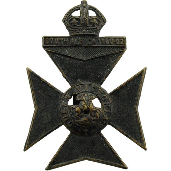 London Battalions 9th (Queen Victorias Rifles) Battalion County of London Regiment Cap Badge