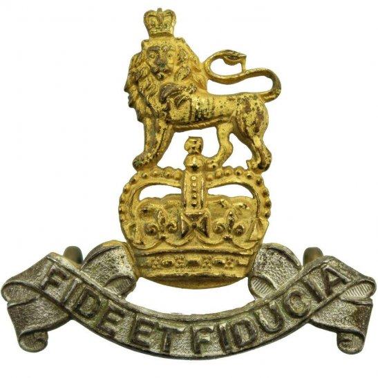 Royal Army Pay Corps RAPC Royal Army Pay Corps RAPC Officers GILT Cap Badge - Queens Crown