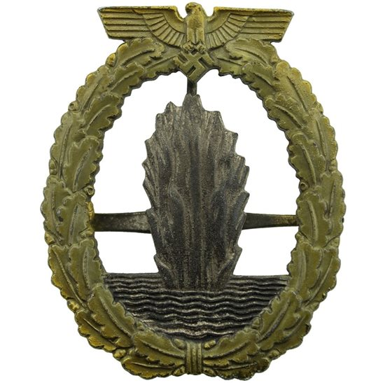 WW2 German Army WW2 German Minesweepers Combat Badge