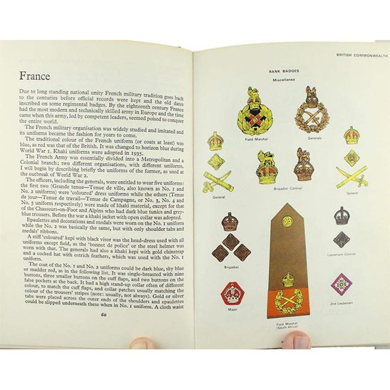 additional image for WW2 Allied Armies Army Cap Badges, Insignia, Rank Patches etc. Guide Book