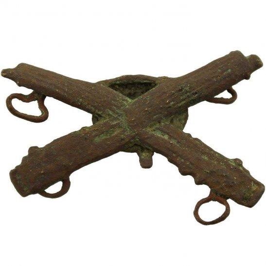 Machine Gun Corps MGC UK Dug Detecting Find - WW1 Machine Gun Corps MGC Relic Collar Badge