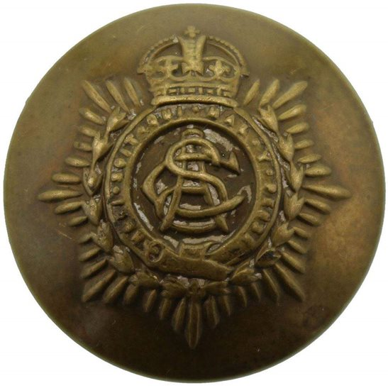 Army Service Corps ASC WW1 Army Service Corps ASC Tunic Button - 24mm