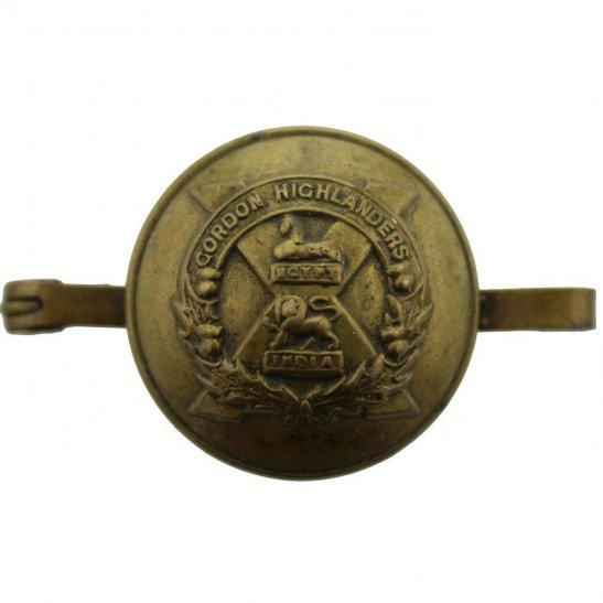 Gordon Highlanders Gordon Highlanders Regiment Sweetheart Brooch Scottish Trench Art Button Badge