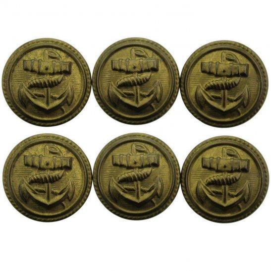 Royal Navy Royal Navy British Anchor Naval Tunic Button - 23mm