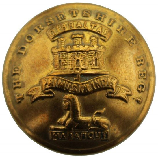 Dorset Regiment Dorsetshire Regiment Dorset Tunic Button - 26mm