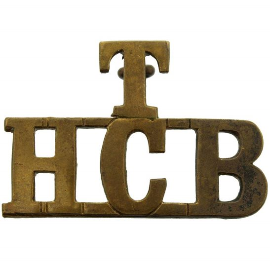 Army Cyclist Corps WW1 Territorial Battalion Army Highland Cyclists Corps HCB Shoulder Title
