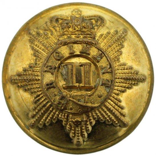 Devonshire Regiment VICTORIAN 11th Regiment of Foot (North Devon) 1855-1881 OFFICERS Tunic Button - 25mm