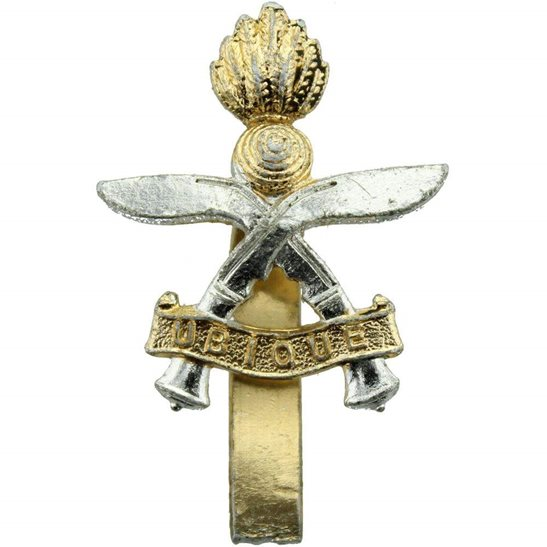 Gurkha Engineers Queens Gurkha Engineers Corps Staybrite Anodised Cap Badge - Staybright