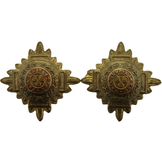 British Army Officers Insignia Pips - Rank of 2nd Lieutenant Set PAIR - 29mm Diagonally