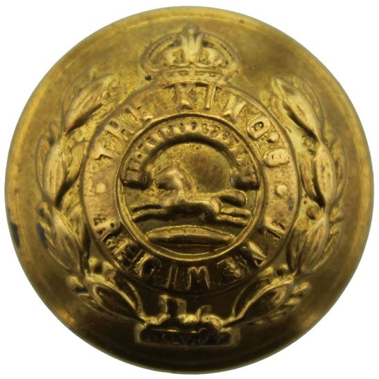 Kings Liverpool The Kings Liverpool (King's) Regiment Tunic Button - 26mm