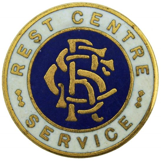 Air Raid Precautions ARP WW2 Air Raid Precautions ARP Shelters Rest Centre Service Lapel Badge