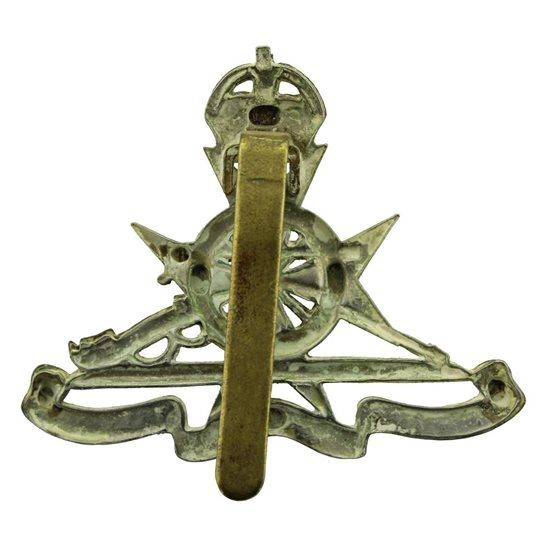 additional image for Royal Malta Artillery RMA Maltese Colonial Regiment Cap Badge