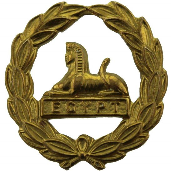 Gloucestershire Regiment WW2 Gloucestershire Regiment REAR / BACK Cap Badge
