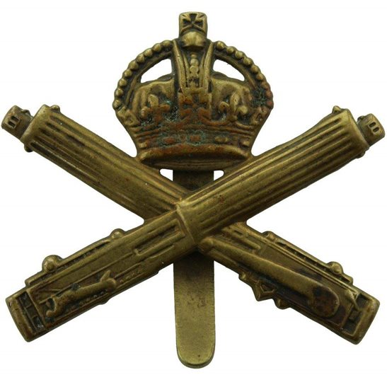Machine Gun Corps MGC WW1 Machine Gun Corps MGC Cap Badge