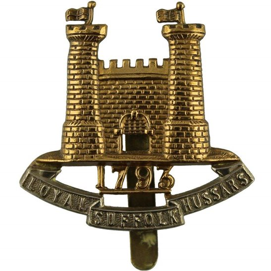 Loyal Suffolk Hussars Loyal Suffolk Hussars Yeomanry Regiment Cap Badge