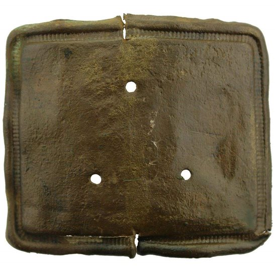 Somme Battlefield Find - WW1 French Army Infantry Belt Buckle Relic