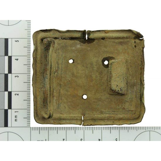 additional image for Somme Battlefield Find - WW1 French Army Infantry Belt Buckle Relic
