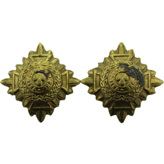 British Army Officers Insignia Pips - Rank of 2nd Lieutenant Set PAIR - 29mm Diagonally