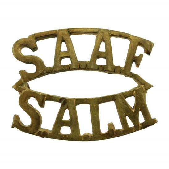 South African Army WW2 South African Air Force SAAF Africa Corps Shoulder Title