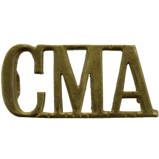 Corps of Military Accountants CMA Shoulder Title