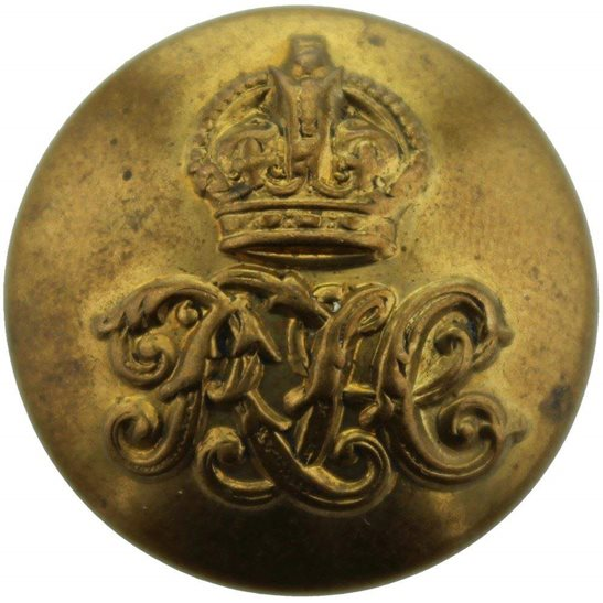 Royal Tank Corps WW1 Royal Tank Corps RTC Tunic Button - 26mm