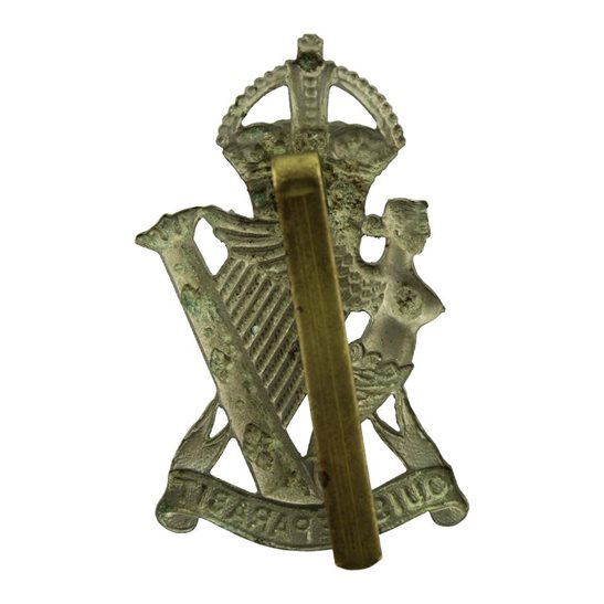 additional image for WW2 Royal Ulster Rifles Regiment Irish Cap Badge