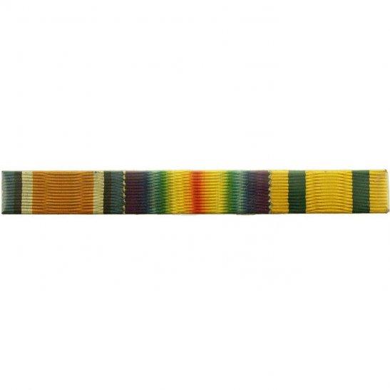 WW1 Trio (British War, Victory & Territorial Force Medal) Ribbon Bar - LUGS