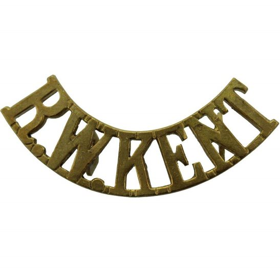 Royal West Kent Royal West Kent Regiment RWK Shoulder Title