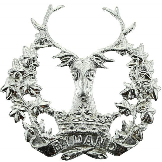 Gordon Highlanders Gordon Highlanders Regiment Staybrite Anodised Cap Badge - Staybright