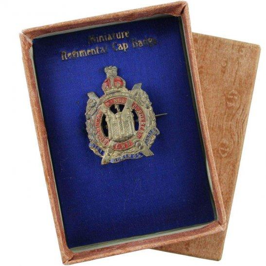 Kings Own Scottish Borderers Kings Own Scottish Borderers Regiment KOSB Sweetheart Brooch Badge