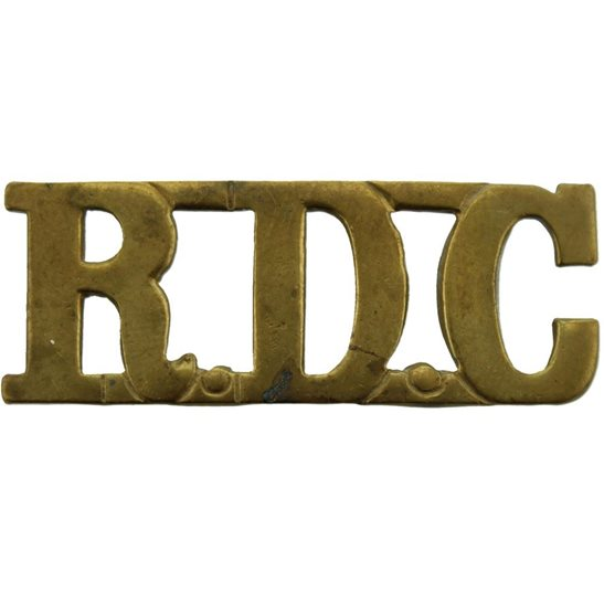 Royal Defence Corps WW1 Royal Defence Corps RDC Shoulder Title