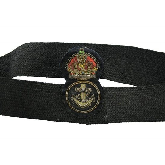additional image for WW1 British Royal Navy Petty Officers Cloth Bullion Cap Badge