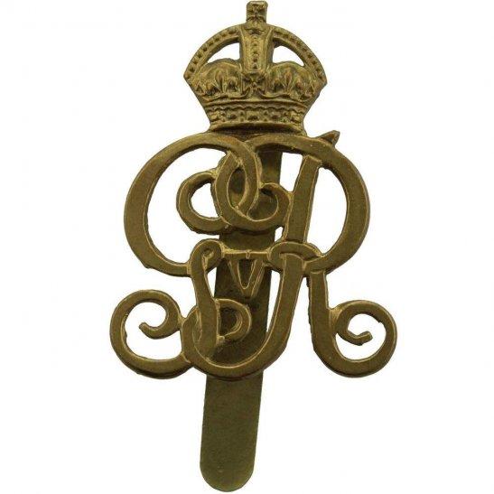Norfolk Yeomanry WW1 Norfolk Yeomanry (Kings Own Royal Regiment) Cap Badge - George V