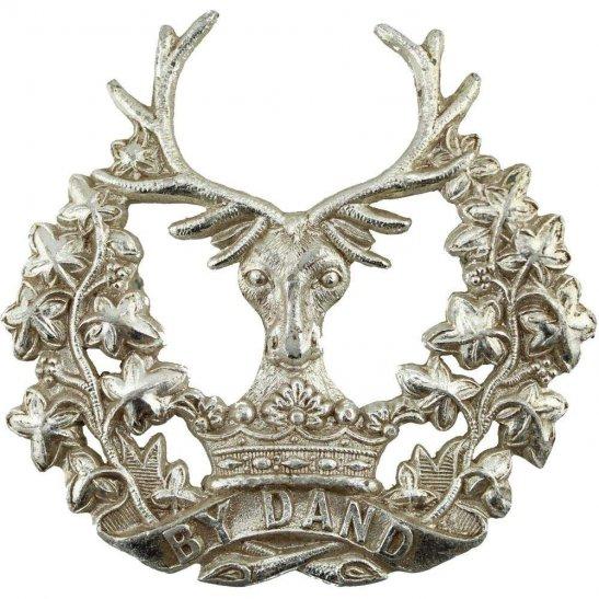 Gordon Highlanders Gordon Highlanders Regiment Staybrite Anodised Cap Badge - Staybright