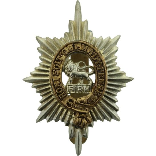Worcestershire Regiment WW2 Worcestershire Regiment Cap Badge
