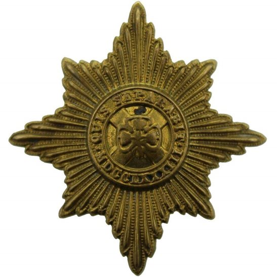 Irish Guards WW1 Irish Guards Regiment Cap Badge
